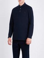 Ralph Lauren Purple Label Regular-fit cotton-piqué polo shirt
