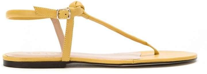 Sandals Women's Flat Yellow Shopstyle dtsrhQC