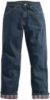 Carhartt Flannel-Lined Jeans - Relaxed Fit (For Women)