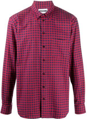 Moschino Tartan Checked Shirt