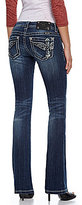 Miss Me Cross/Wing Bootcut Jeans