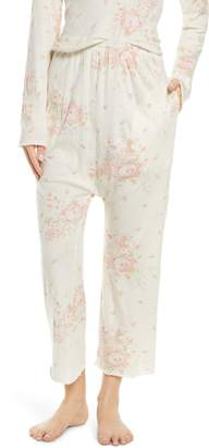 The Great The Lounge Crop Pajama Pants