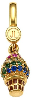 Judith Leiber 14K Goldplated Sterling Silver & Cubic Zirconia Ice Cream Cone Charm