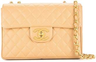 Chanel Pre-Owned 1994-1996 quilted Jumbo XL chain shoulder bag