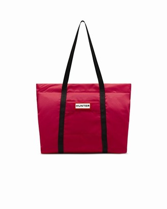 Hunter Nylon Tote - Pink
