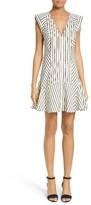 Veronica Beard Women's Pop Stripe Fit & Flare Dress