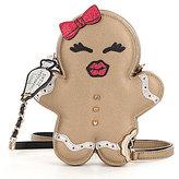 Betsey Johnson Sugar & Spice Gingerbread Girl Cross-Body Bag