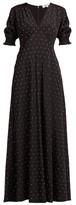 Diane von Furstenberg Avianna Crystal-embellished Silk Maxi Dress - Womens - Black