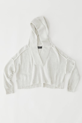 Urban Outfitters Harris Hooded Cropped Sweater