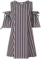 P.A.R.O.S.H. A-line stripe dress