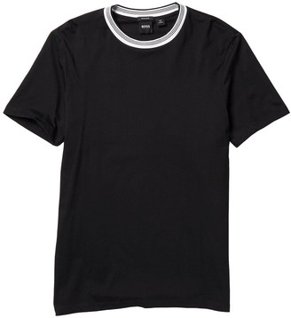 HUGO BOSS Tiburt Crew Neck Short Sleeve Regular Fit T-Shirt