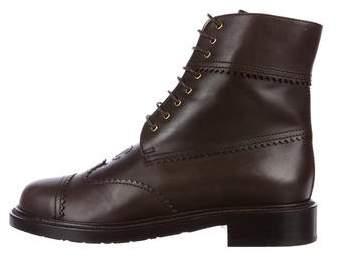 Chanel CC Cap-Toe Boots w/ Tags