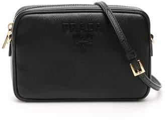 Prada Logo Plaque Camera Bag