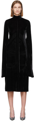Vetements Black STAR WARS Edition Velvet Kylo Ren Dress