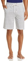 Daniel Buchler Feeder Stripe Pima-Modal Blend Lounge Shorts