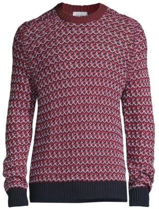 Salvatore Ferragamo Chunky Knit Virgin Wool Sweater