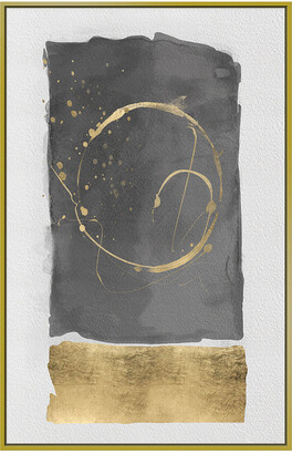 Jonathan Bass Studio Coffee Stain Gold Leaf