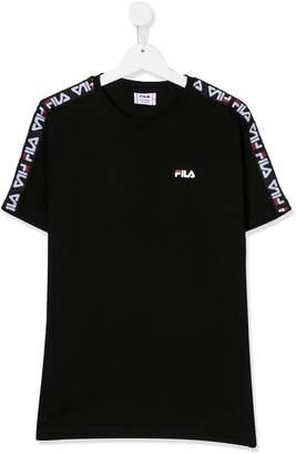 Fila Kids TEEN logo stripe T-shirt