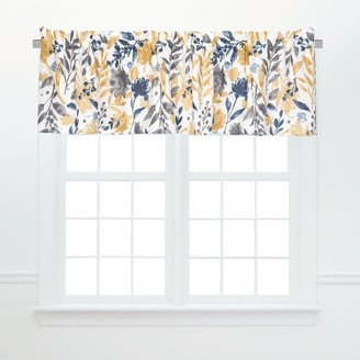 C&F Home Natural Home Window Curtain Valance Set of 2 - 15.5 x 72