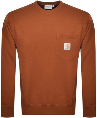 Carhartt Pocket Sweatshirt Brown