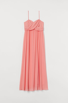 H&M MAMA Long bandeau dress