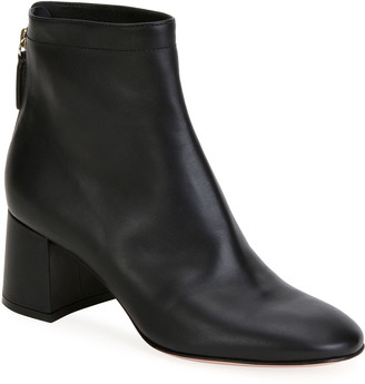 Gianvito Rossi Soft Leather Chunky Booties