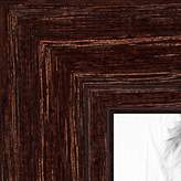 ArtToFrames 13x20 inch Walnut Stain on Red Oak Wood Picture Frame, 2WOM0066-80209-YWAL-13x20