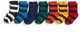 Tommy Hilfiger Infant Stripe Socks 7pk