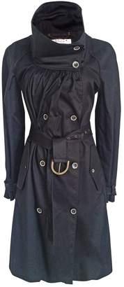 Stella McCartney Stella Mc Cartney Black Cotton Trench coats