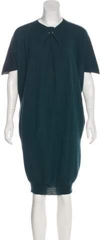 Lanvin Embellished Wool Dress