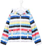 MSGM striped windbreaker - kids - Nylon - 10 yrs
