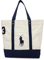 Polo Ralph Lauren Solid Medium Canvas Tote