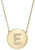 Jennifer Meyer Women's Initial Pendant Necklace