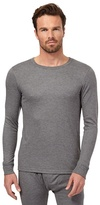 Maine New England Grey Long Sleeved Thermal Top