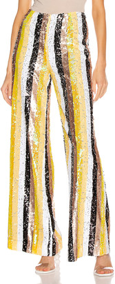 STAUD Stage Pant in Buttercup Multi | FWRD