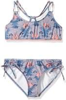 Roxy Big Girls' Cuba Athletic Swimsuit Set