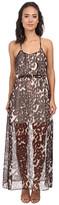 Chaser Animal Print Maxi Dress