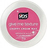 VO5 Give Me Texture Choppy Creme Wax - 75g by