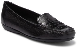 Geox Annyta Embossed Penny Loafer