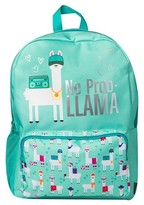 "Fashion Angels Style Lab by 16.5"" No Prob - Llama Backpack - Mint Green"