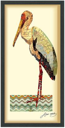 Empire Art Direct Crane Framed Artwork By Alex Zeng