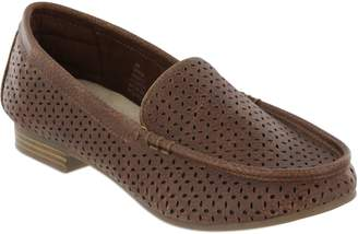 Mia Amore Laser-Cut Detailed Loafers - Monaa