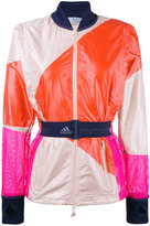 adidas by Stella McCartney belted sports jacket - women - Recycled Polyester - S
