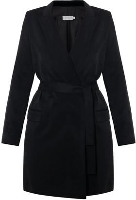 Undress Namya Black Double Breasted Mini Blazer Dress