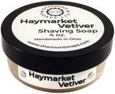 Haymarket Vetiver Shaving Soap by Shannon's Soaps (4oz Shave Soap)