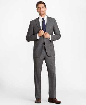 Brooks Brothers Madison Fit Glen Plaid 1818 Suit