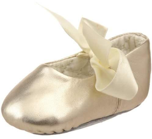 Designer's Touch Baby Deer Sabrina Metallic Ballet Flat (Infant/Toddler)
