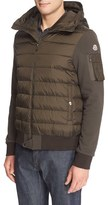 Moncler Men's Quilted Down Hoodie