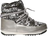 Moon Boot We Crackled Metallic Boots
