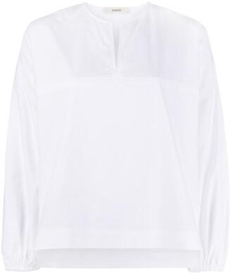 Odeeh Front Slit Elasticated Cuff Shirt